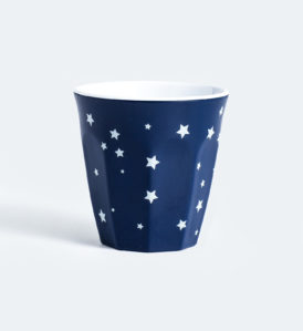 Barel melamine blue stars cups 260mL - set of 6